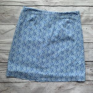 Vineyard Vines Starfish Cotton Skirt